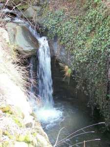 Cascada del arroyo Ubeire