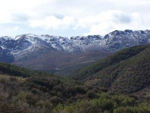 Cumbres de Sierra Nevada, desde el sendero