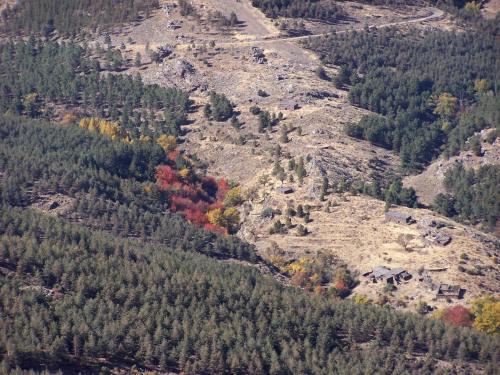 El otoño en la Sierra de los Filabres