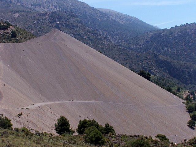 Montaña de escoria