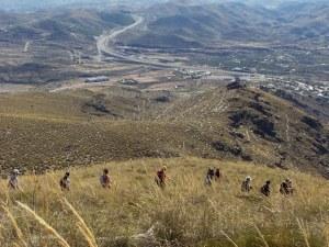 descenso Cerro Las Tablas