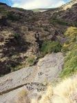 Cruzando el río Paterna