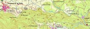Mapa Vía Verde Lucainena