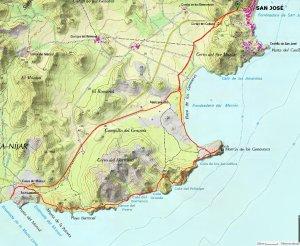 Mapa San José - Genoveses - Monsul