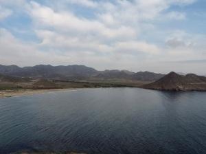 Playa de los Genoveses desde el Morrón