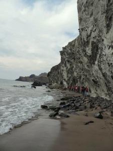 Entre Cala Grande y Cala del Barranco
