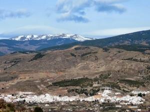 Laujar a los pies de Sierra Nevada