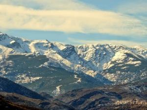 Cara norte de Sierra Nevada