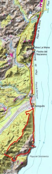 Mapa PR-A 96 Las Menas Macenas