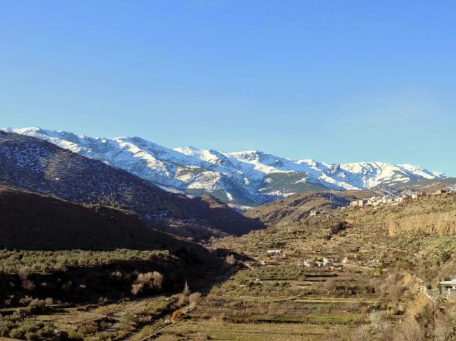 Sierra Nevada desde el mirador