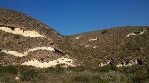 Playas fósiles de Rambla del Hondo
