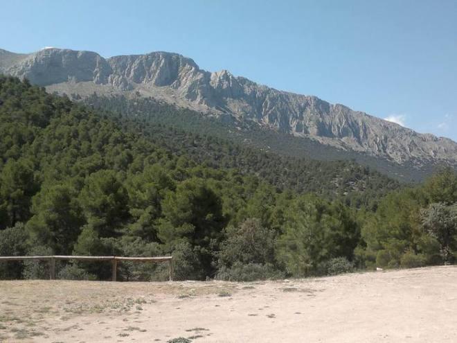 Sierra de María desde los Alamicos