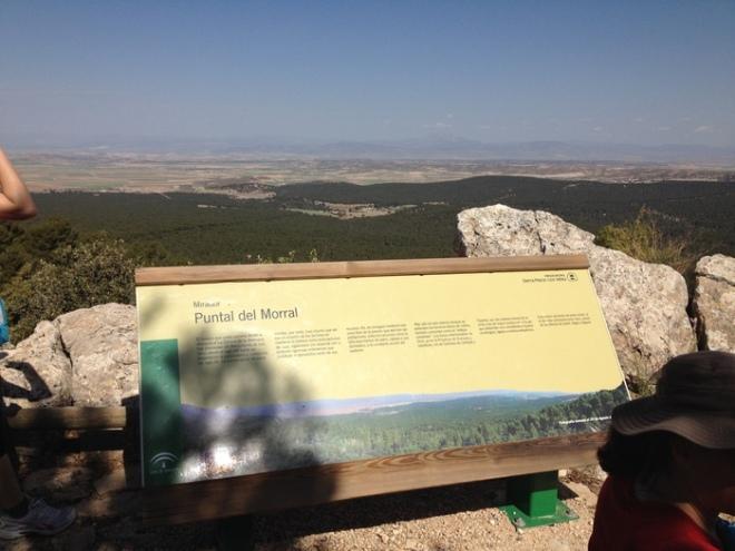 Vista del Mirador de la Punta del Morral