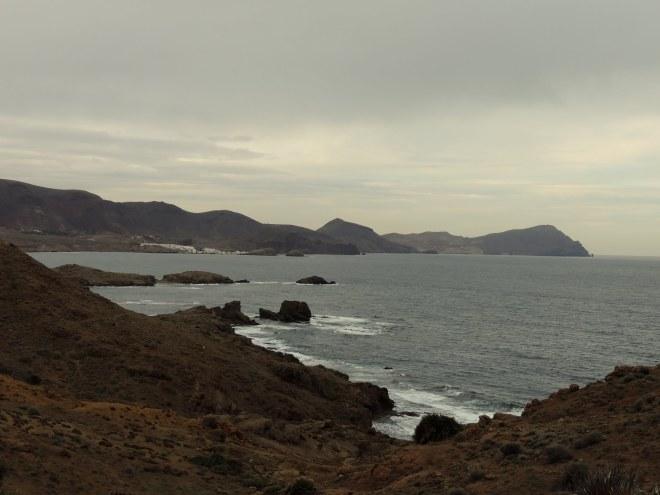 Vista de la costa hacia el norte