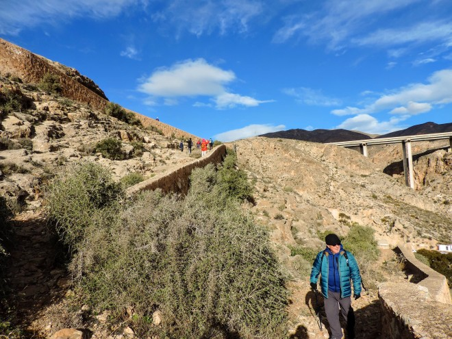 Zig-zag del Camino Viejo de Aguadulce