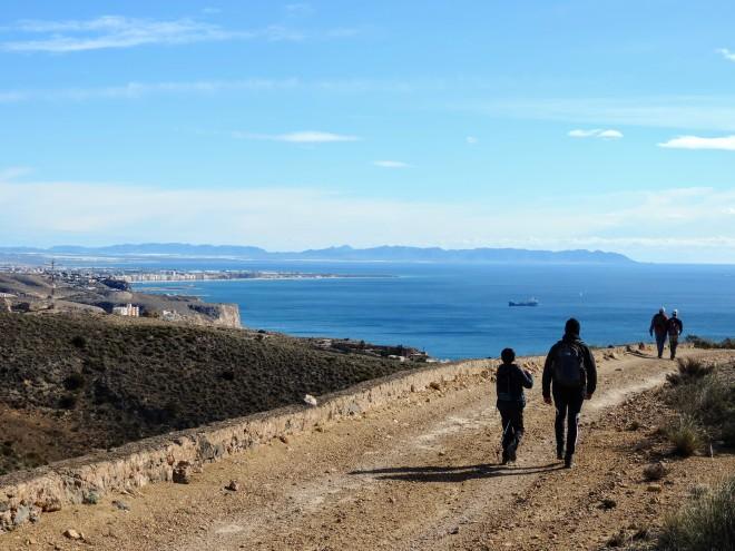 Camino Viejo de Aguadulce por Loma Alta