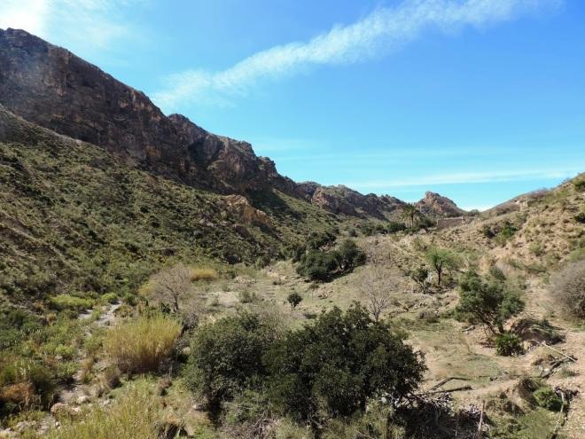 Loma del Colorado y Rambla de las Chozas