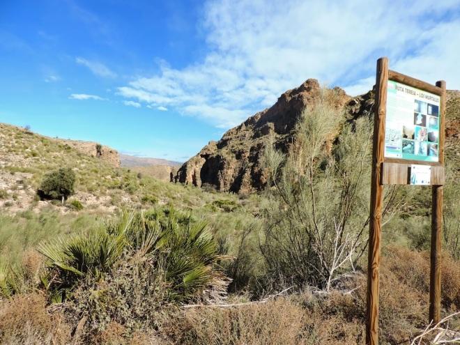 Punto de partida de ruta Teresa - Los Murtales
