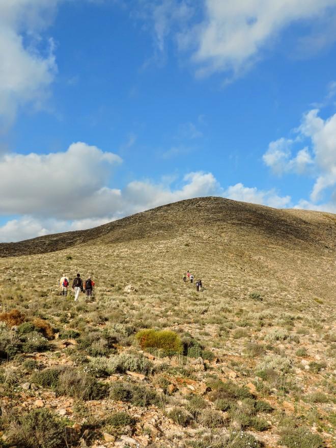 Subida al Cerro Majano