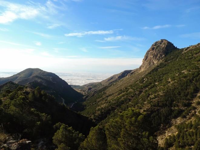 Primer tramo del Barranco del Tartell