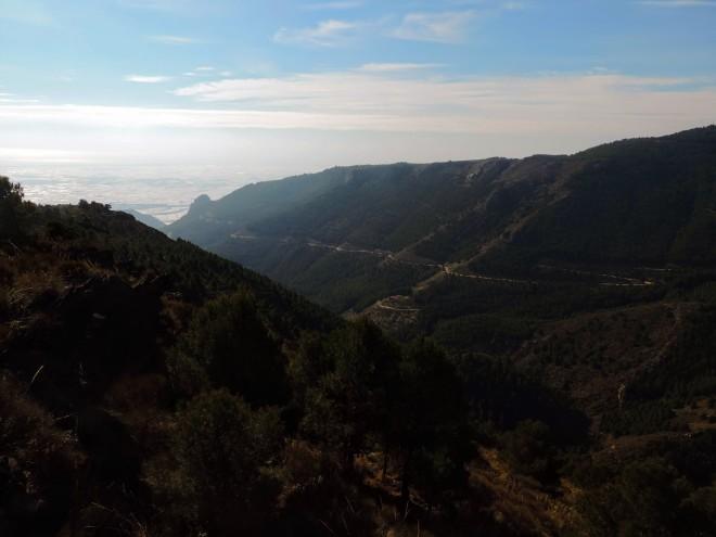Barranco del Tartell desde Muela García