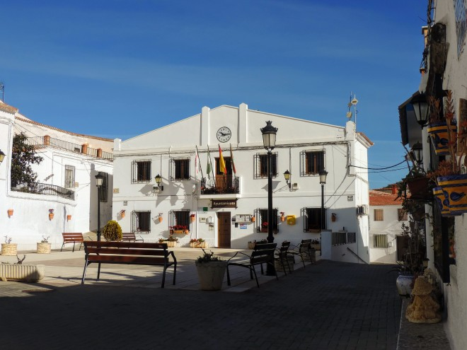 Plaza Mayor de Alcudia de Monteagud