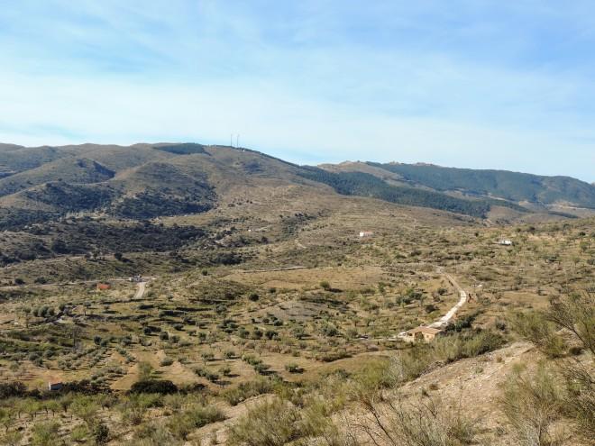 Cara norte de la Sierra de los Filabres