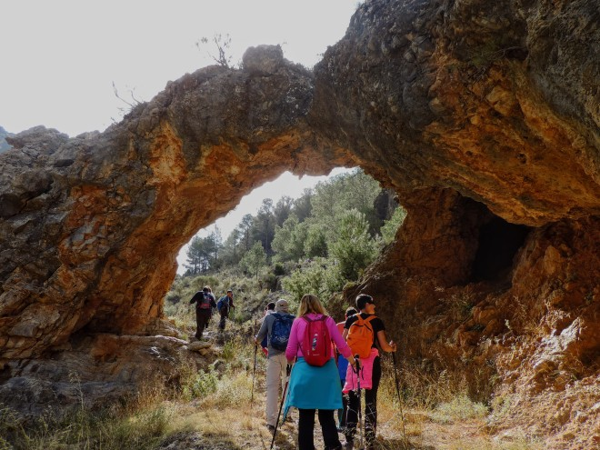 Arco de roca en Barranco de la Talilla