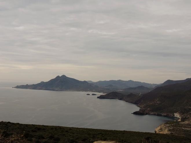 Vista hacia el sur desde el Cerro de los Lobos