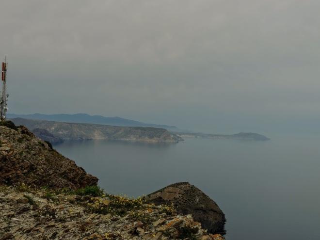 Vista al norte desde Cerro de los Lobos